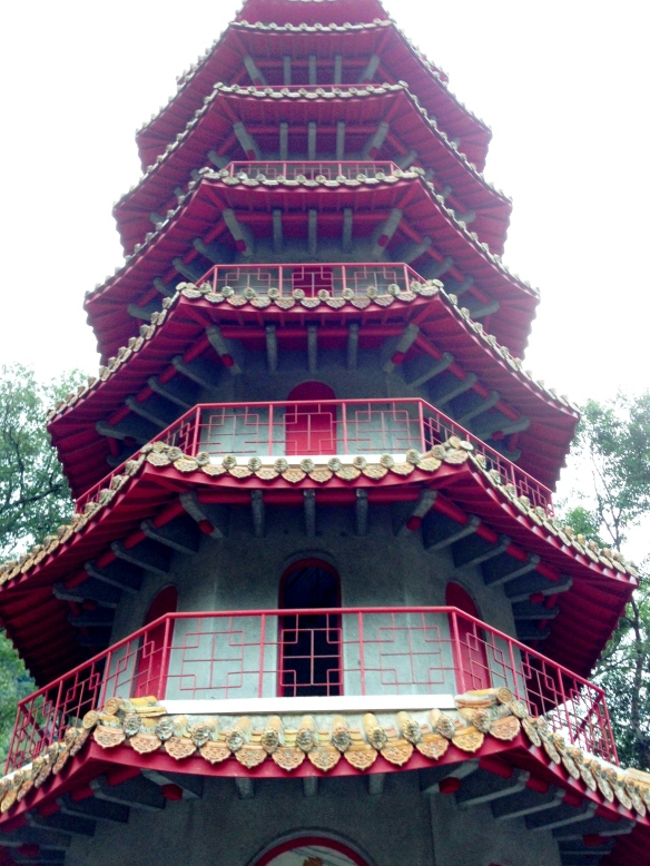 pagoda at taroko's gorge